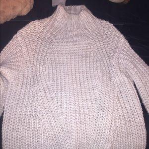 sanctuary mock neck sweater
